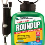 Roundup 2.5L Mini Pump & Go Fast Action Weedkiller