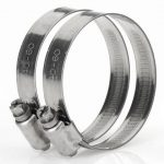 Oase Stainless Steel Hose Clip 2″ (pack of 2)
