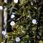 Smart Garden Ultra Solar String Lights – 50 Orbs
