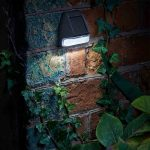 Smart Solar Fence, Wall & Post 3L Security Light (Pack of 4)