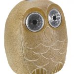Smart Solar Bright Eyed Stony Owl – 25cm