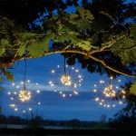Smart Solar Triple Starburst Solar String Lights