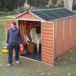 Palram Skylight 6×10 Amber Polycarbonate Shed