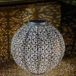 Smart Solar Jumbo Damasque Lantern
