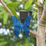 Smart Solar Bug Clips (Blue Butterfly)