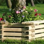 Norlog Medium Tree Seat / Planter