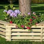 Norlog Large Tree Seat / Planter