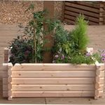 Norlog Buildround 18×48 Inch Rectangular Planter