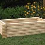 Norlog Buildround 36×48 Inch Rectangular Planter
