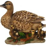 Vivid Arts Real Life Duck with Ducklings – Size B