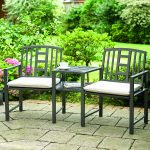 Greenhurst Hartlebury Duo Garden Bench and Table