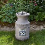 Smart Garden Direct Solar Milk Churn Water Feature