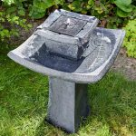 Smart Garden Direct Solar Pagoda Fountain