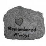 Vivid Arts Remembered Always Rock (Grey Granite)