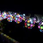 Smart Solar 10 Multi-glow Gems White LEDs Solar String Lights