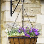 Smart Garden 14″ Saxon Basket 2pk with liners and brackets