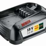 Bosch 18 V Battery – PBA 18V 2.5Ah W-B (Battery)