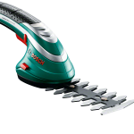 Bosch Isio III Shape & Edge Cordless Trimming System with LA Gloves