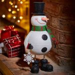Three Kings Sparkly Snowman
