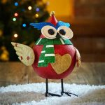 Three Kings Sparkly Owl