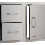 BULL 76cm Door/Drawer Combo: Stainless Steel