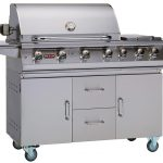 Bull 7 Burner Premium Grill Cart Gas BBQ (Natural Gas)