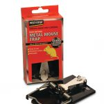 Pest Stop Easy-setting metal mousetrap