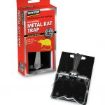 Pest Stop Easy-setting metal rat trap
