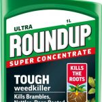 Roundup Ultra Super Concentrate Tough Weedkiller – 1L