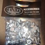 Elite Short Head Nuts & Bolts (Pack of 50)