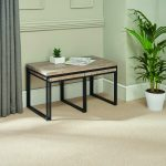 Greenhurst Kubic 3-Pce Coffee Table Set