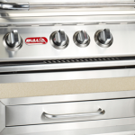 BULL 76cm Grill Finishing Frame: Stainless Steel