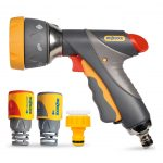 Hozelock Multi Spray Pro II Spray Gun with Fittings