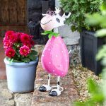 Smart Garden Spotty Cow Ornament