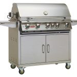 Bull Brahma Cart with lights Gas BBQ (Natural Gas)