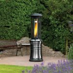 Lifestyle Santorini Flame Heater 11Kw Gas Patio Heater