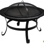 La Hacienda Boston Steel Firebowl