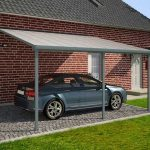 Palram FERIA PATIO COVER 3X7.30m (GREY) – CLEAR