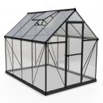 Palram Hybrid 6×8 Greenhouse (Grey)