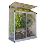 Palram LEAN TO GROW HOUSE 4X2 – SILVER CLEAR