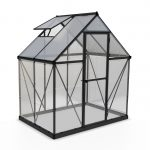 Palram Hybrid 6x4ft Greenhouse (Grey)