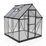 Palram Hybrid 6x6ft Greenhouse (Grey)