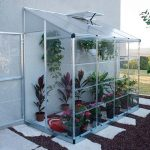 Palram LEAN TO GROW HOUSE 8X4 – SILVER HYBRID