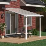 Palram Olympia Patio Cover 3 x 3.05m White – Clear