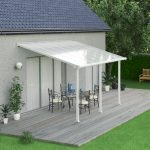 Palram Olympia Patio Cover 3 x 4.25m White – Clear