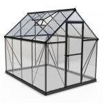 Palram Harmony 6×8 Greenhouse (Grey)