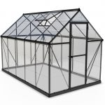 Palram Harmony 6×10 Greenhouse (Grey)