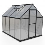 Palram Mythos 6×8 Greenhouse (Grey)