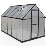 Palram Mythos 6×10 Greenhouse (Grey)