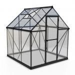 Palram Harmony 6×6 Greenhouse (Grey)